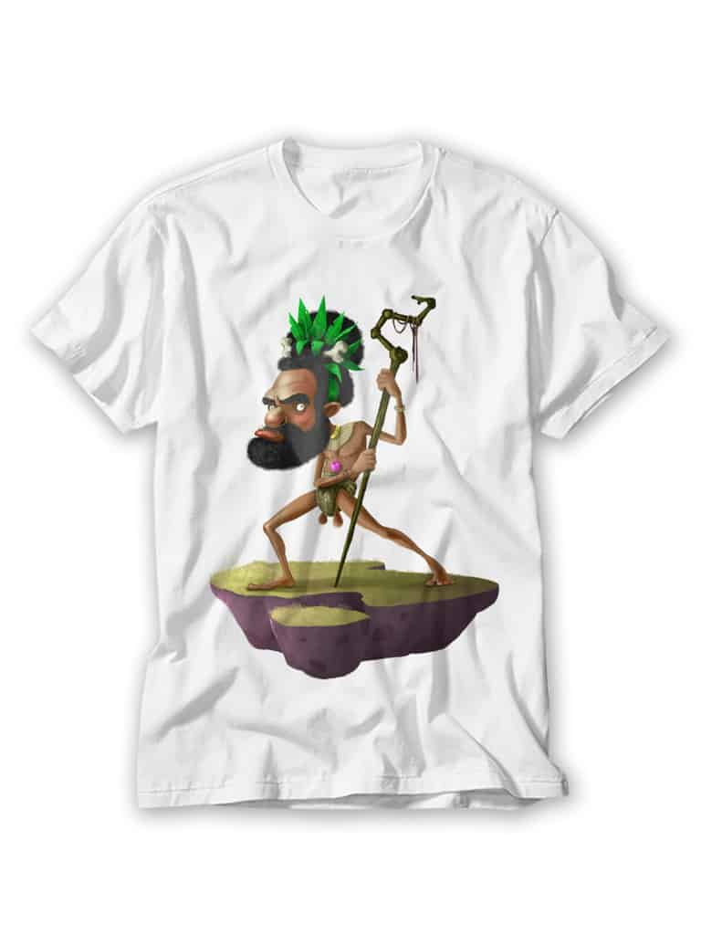 camiseta con los rudies