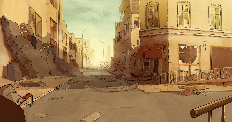 background 5 apokatlipsis cyborn planet