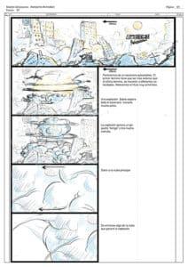 storyboard 1 apokatlipsis cyborn planet
