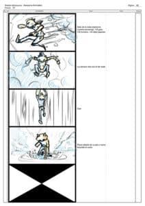 storyboard 2 apokatlipsis cyborn planet