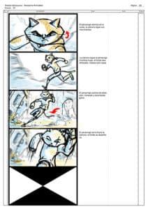 storyboard 3 apokatlipsis cyborn planet