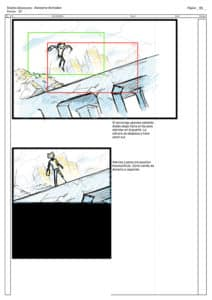 storyboard 4 apokatlipsis cyborn planet
