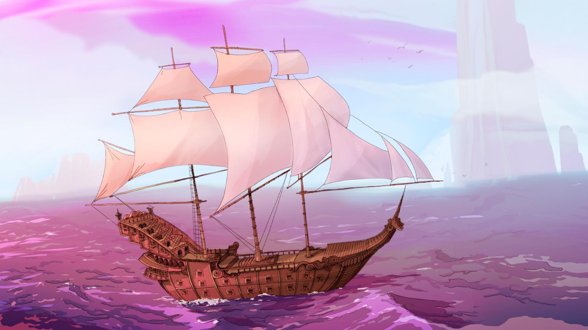 largometraje de animación 2d barco