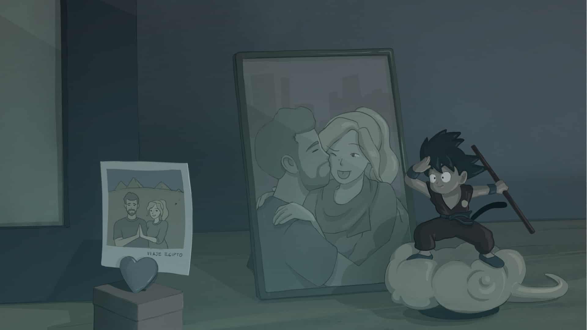 Background para cortometraje de animación 2d