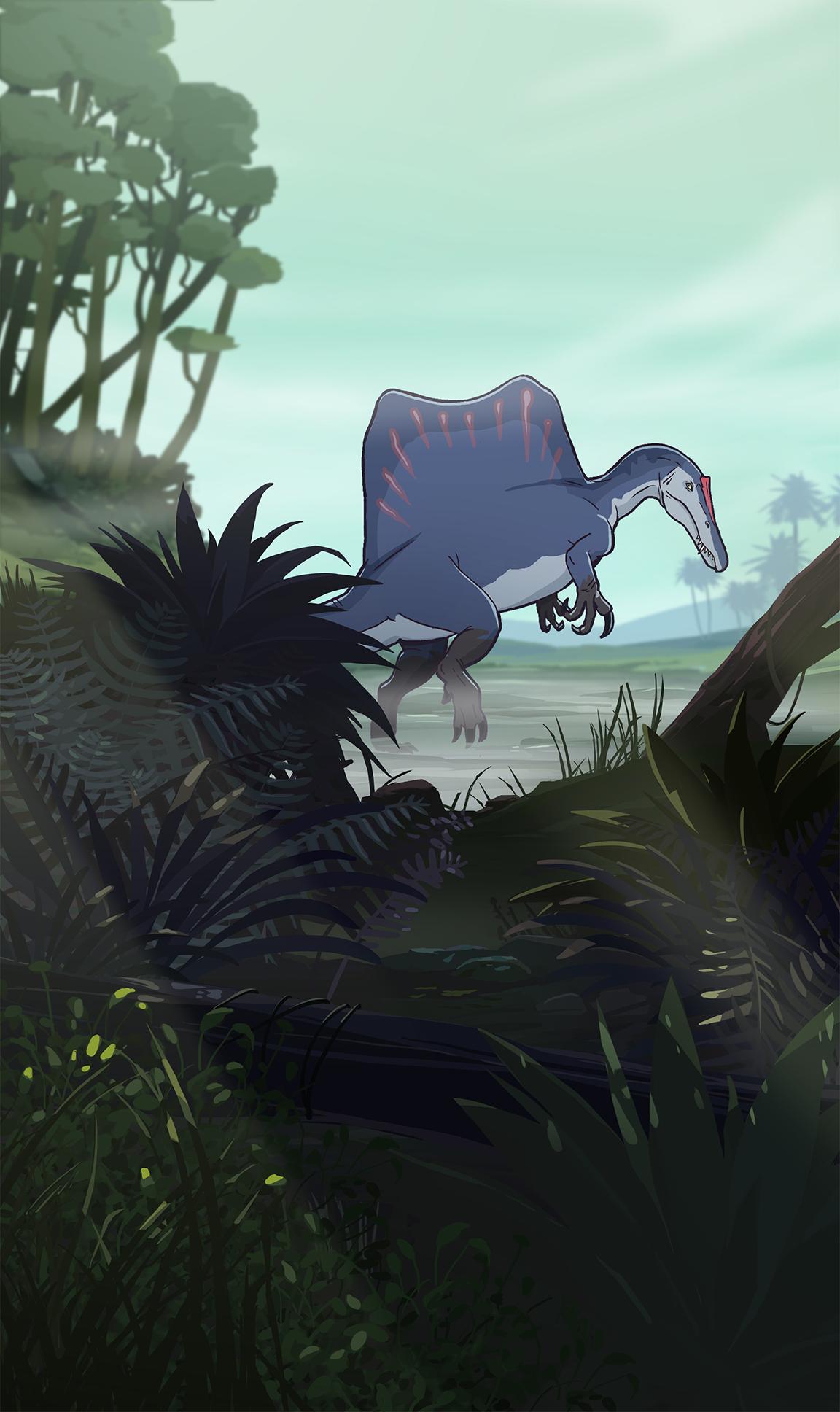 Concept art Mesozoic Life
