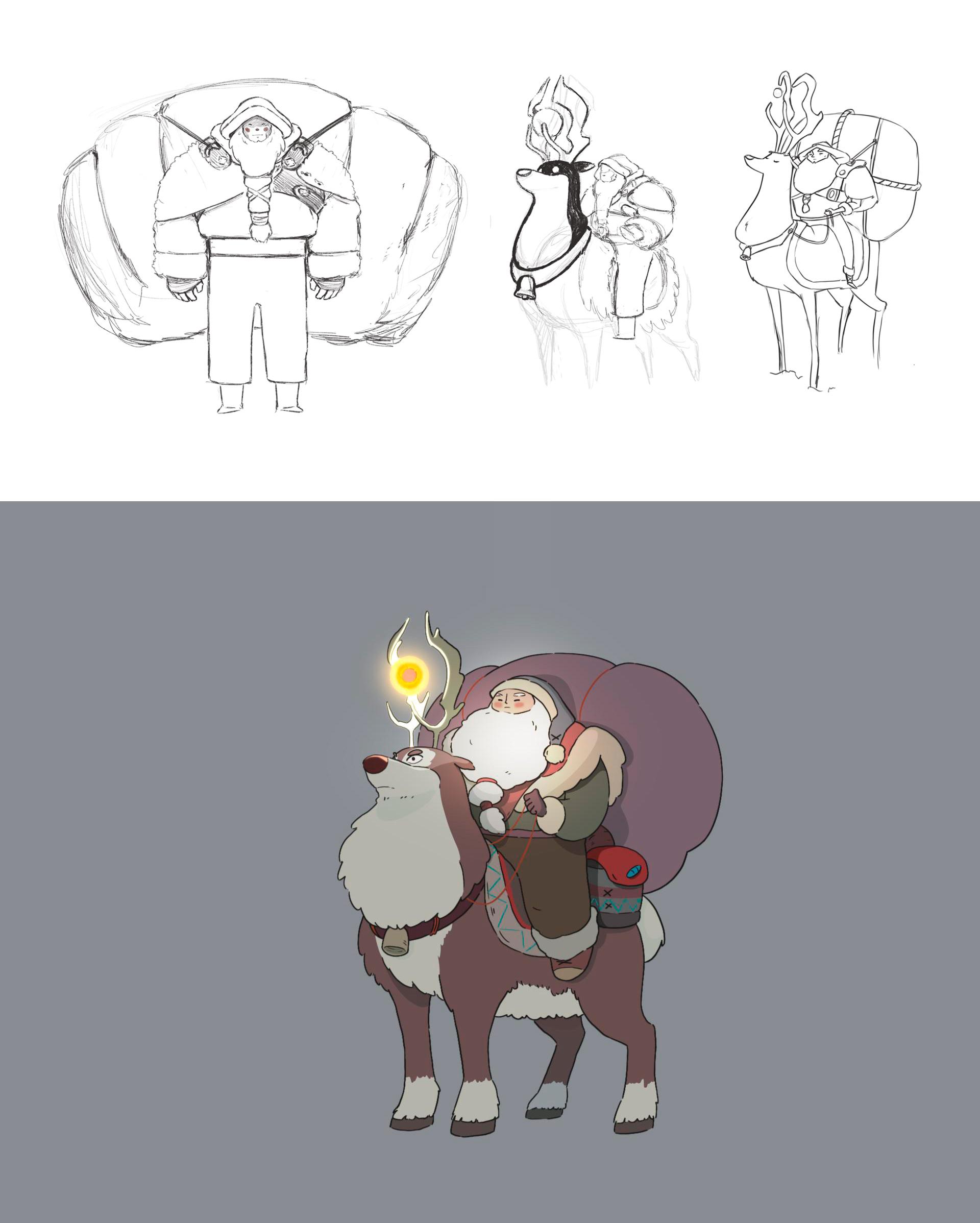 Diseño de personajes y concept